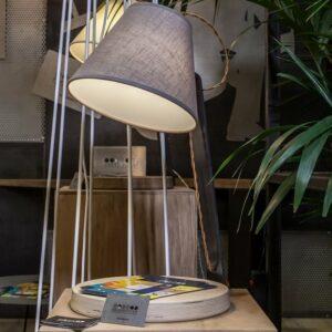 Lampada da tavolo Pisa 90x100 Ferro