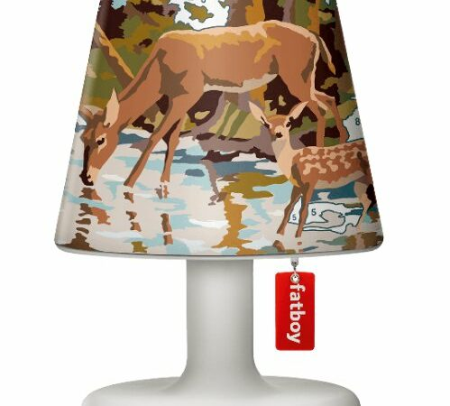 Lampada Edison the Petit - Paralume Cooper Cappie Paint by No1 Fatboy