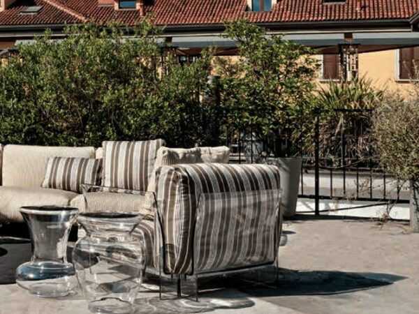 Divano e poltrona Pop Outdoor New Kartell